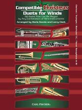 Compatible Navidad Dúos Para Vientos Clarinete Trompeta Saxo Tenor reproducir la música Libro