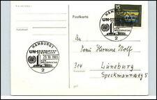 1965 Sonderstempel HAMBURG B-Ausstellung Weltspartag