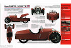MORGAN SUPER SPORTS Sport IMP Brochure: 1931,1932,1933,1934,.....