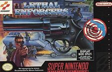 Lethal Enforcers (Super Nintendo SNES, 1994) cartridge only