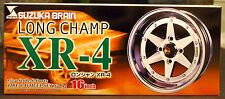 Felgen Longchamp XR-4 16 Zoll inkl. Reifen, 1:24, Aoshima 040218
