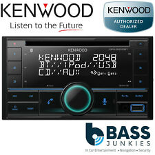 Kenwood DPX-5200BT Double Din AUX USB iPhone iPod Android Bluetooth Car Stereo