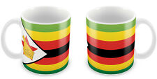 ZIMBABWE Flag Mug Gift Idea for Christmas Holiday Cup 094