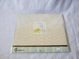 Carter's FIRST YEAR CALENDAR Baby Memory Book Milestone Keepsake Unisex