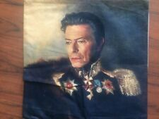 David Bowie Linen Square Pillow Cushion Cover.