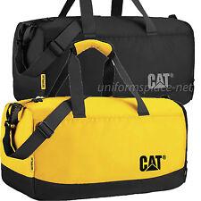 Caterpillar Duffel Bag Project Duffel Tote Bags W/ Shoulder Strap Black, Yellow