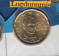 Grece - 2011 - 20 Centimes D'euro FDC Scéllée provenant coffret BU 30 000 Greece