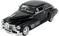 Chevrolet Chevy Aerosedan Fleetline Coupe Schwarz 1948 1/24 Motormax Modell Au..