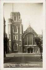 Wandsworth. Church of St Thomas of Canterbury # M 9587.