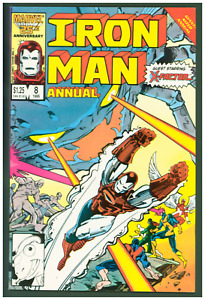 Iron Man Annual #8 VF Marvel Comics 1986  X-Factor Cover