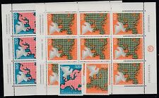 FRANCOBOLLI 1975 JUGOSLAVIA SICUREZZA EUROPEA 2 SINGOLI + 2 MF MNH Z/6957