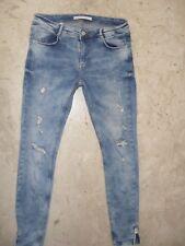 Jeans ZARA Slim, skinny Tg 38 ( 42 ita ) in Denim  Strech COMPRALO SUBITO