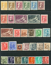 SPAIN COLLECTION MINT & USED, MANY NH