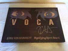 SDCC 2015 Voca Mystifying Spirit Board Ouija SIGNED Kirk von Hammett Metallica