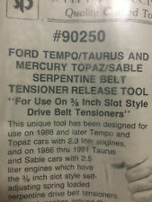 Serpentine Belt Tensioning Tool 1/2in. Ford/Mercury schley prod 90270 CLOSEOUT