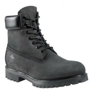 Mens Timberland 6 Inch Premium Waterproof Boot Black TB010073001