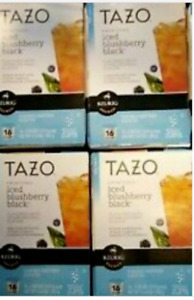 Tazo Sweetened Iced Blushberry Black Tea Keurig K-Cup 64 Ct. * BB 4/2016