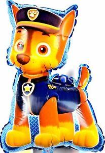 XL Paw Patrol Chase Helium Folienballons Hund Kinder Geburtstag balloon