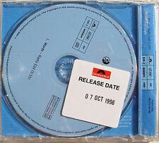 BOYZONE CD Words 1 Track orig. UK PROMO w/ Release Date STICKER 1996 1st Edn.