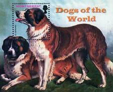 👉 MONTSERRAT 2006 big DOGS S/St  MNH ANIMALS