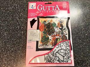 Gutta Collection 100% Silk Scarf 90cmx90cm. Wildlife Pattern.