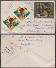 Bhutan - Registered Cover to Calcutta from Phuentsholing ....... (VG) MV-8284