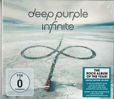 DEEP PURPLE - Infinite ( 2017 Cd + Bonus Dvd / Sealed digipack)
