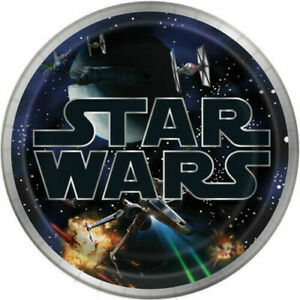 STAR WARS Party Birthday Plates Napkins Cups Favors Stickers Tattoos Tablecover
