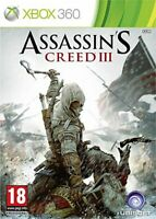Jeu Assassin's Creed III 3 Microsoft XBOX 360 Ubisoft Version Française