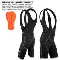Mens Cycling Bib Shorts Padded Bicycle Road Bike MTB Mountain Bike Clothing