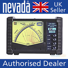 Daiwa CN901HP Professional grade 1.8-200MHz cross needle power/SWR meter NEW