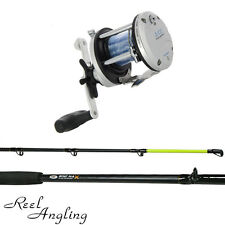 Sea Fishing 6ft Boat Rod & Reel Multiplier JD 300 Lineaeffe or travel set NGT