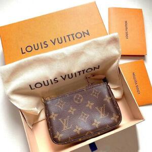 Louis Vuitton Mini Pochette Accessoires Pouch Monogram M58009 Brand New