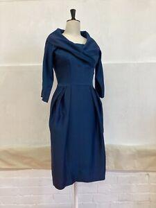 Genuine Vintage 50s Wiggle Dress Monroe Jackie O 10