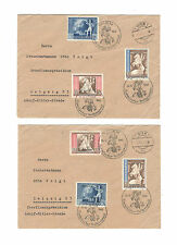George VI (1936-1952) WWII European Stamps