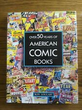 Over 50 Years Of American Comic Books - Hardcover