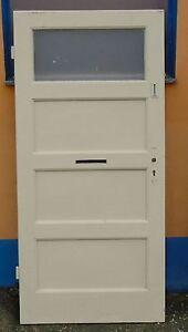 Alte Tür Holztür Innentür Zimmertüre Wieß 200 x 95 chic Top Landhaus Weiß shabby