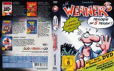 Werner / Trilogie in 5 Teilen / Sammelbox / 5 DVD´s von 2012 / ! ! !