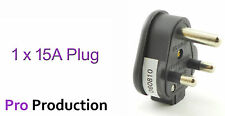 15 Amp Stage Lighting Plug 15 A