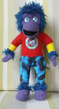 """Zak Purple Gorilla from Zing Zillas 8"""" plush soft toy"""