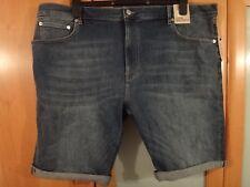 M & S Denim Shorts Cotton Stretch BNWT Size 36