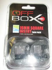 Preston Innovations Offbox Pro 19mm SQUARE Spare Inserts 2pk Fishing tackle