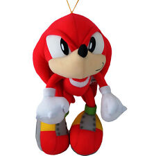 "Sonic the Hedgehog Classic Knuckles the Echidna Plush Toy 10"" Official Licensed"