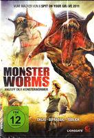 DVD/MONSTER WORMS - ataque der monsterwürmer NUEVO Y EMB. orig. wendecover NUEVO