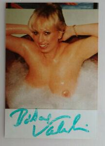 Handschriftliches Autogramm Barbara Valentin auf Foto 1989 (76654)