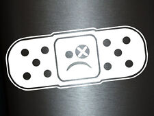 1 x 2 forcé autocollant patch smiley smile sticker des autocollants tuning Fun gag