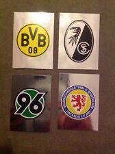 Topps 13/14 2013/2014 Wappen Dortmund Braunschweig Freiburg Hannover