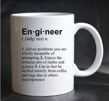 PRINTED MUG DEFINITION ENGINEER Engineering Job Science Joke Present Gift Cup