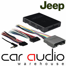 Jeep Liberty 2008 On Car Stereo Amplified Active Speaker Adaptor Lead