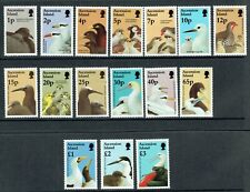 1996 Ascension Island Bird Definitive set SG 679 - 694 unmounted mint